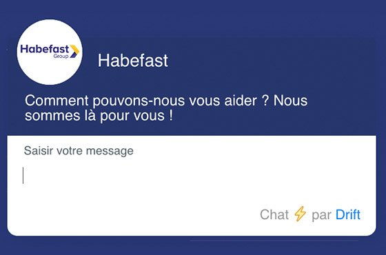 Habefast Blog Article Chatbot Relation Client