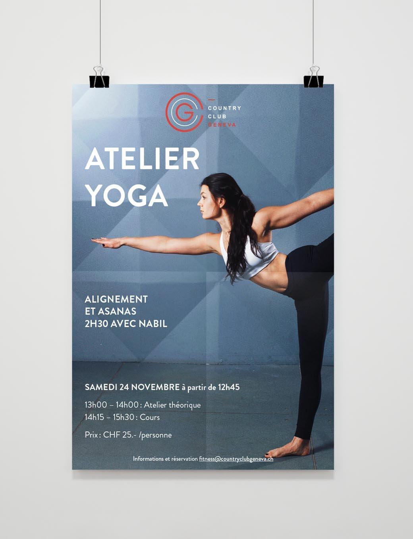 Habefast Etude De Cas Ccg Affiche Yoga