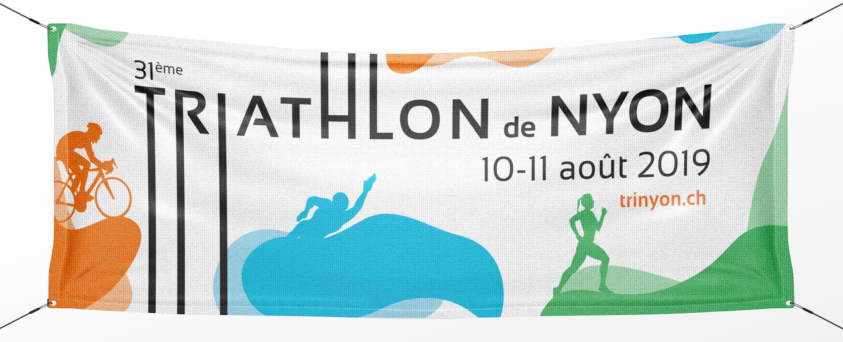 Habefast Etude De Cas Triathlon Nyon Print Bandeau Full