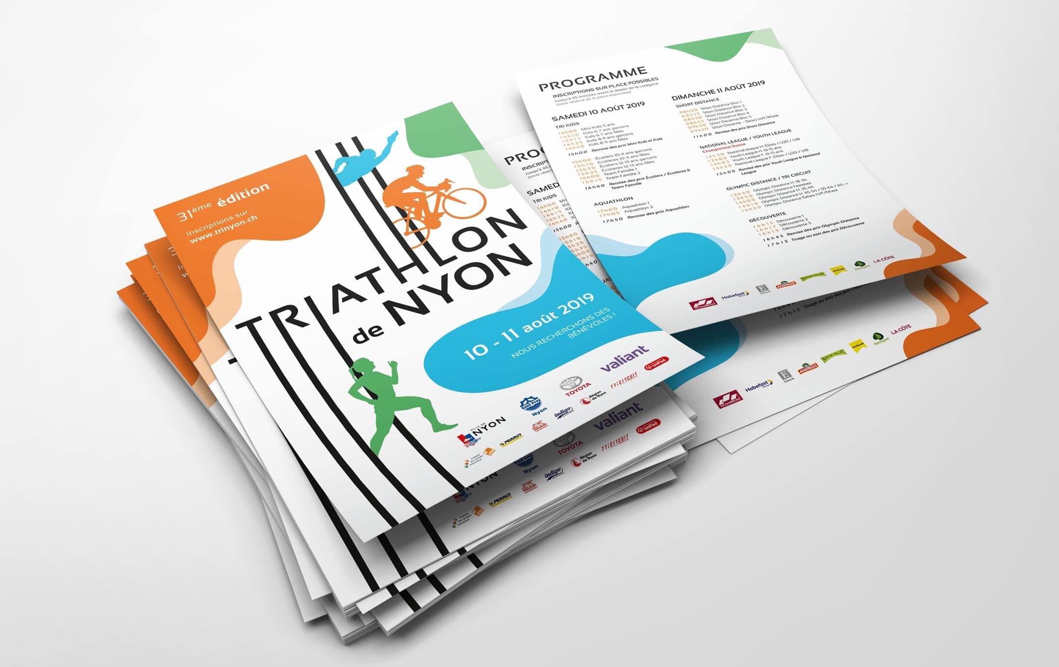 Habefast Etude De Cas Triathlon Nyon Print Flyers