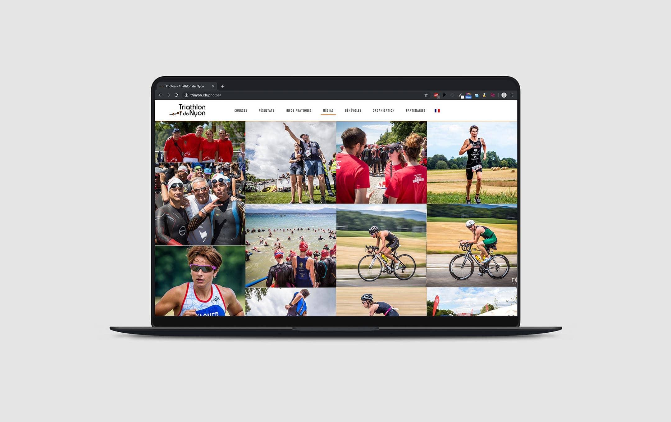 Habefast Etude De Cas Triathlon Nyon Site Siteweb Galerie
