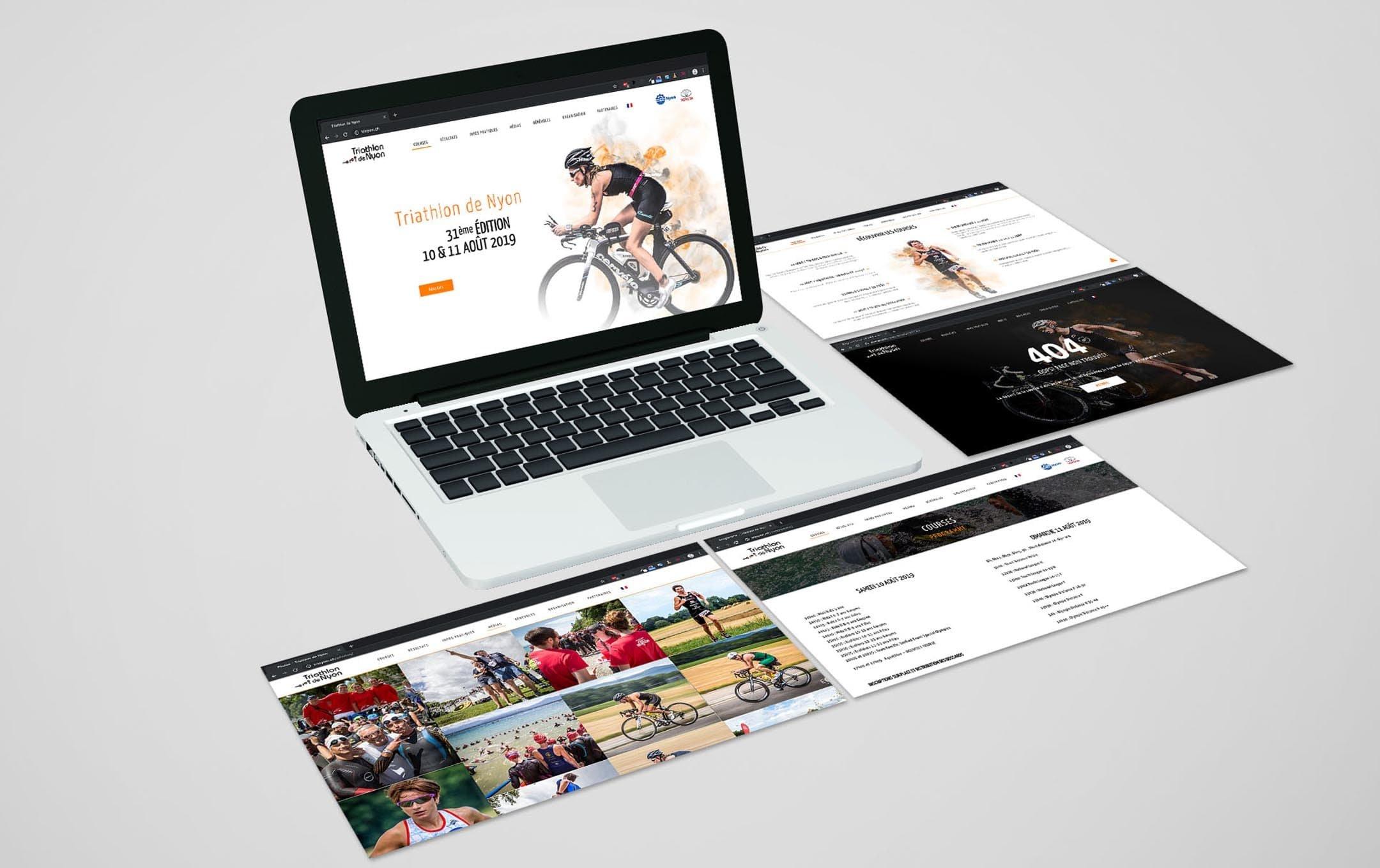 Habefast Etude De Cas Triathlon Nyon Site Siteweb Multiple Pages