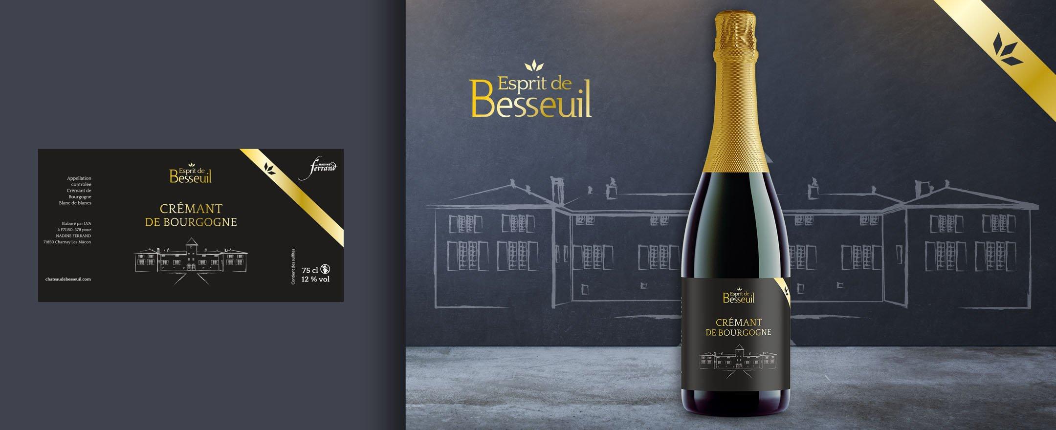 Habefast Etude De Cas Chateau Besseuil Print Etiquettes Vin 02